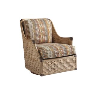 Los Altos Swivel Barrel Chair by Tommy Bahama Home
