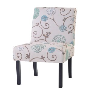 Ayr Upholstered Armless Parsons Chair Set of 2