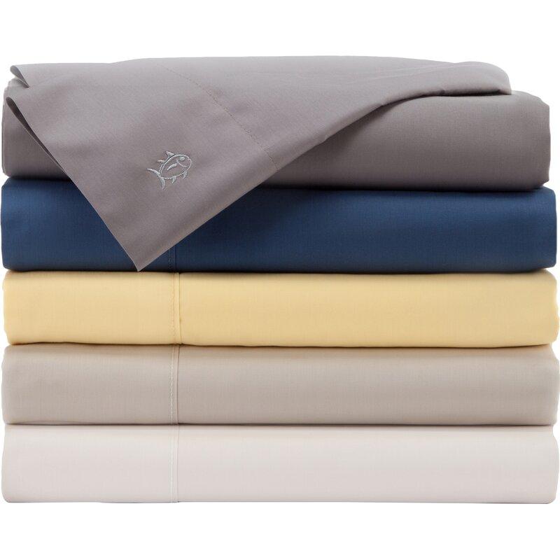 Skipjack 300 Thread Count 100 Cotton Sheet Set