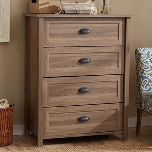 Hildegard 4 Drawer Chest by Andover Mills