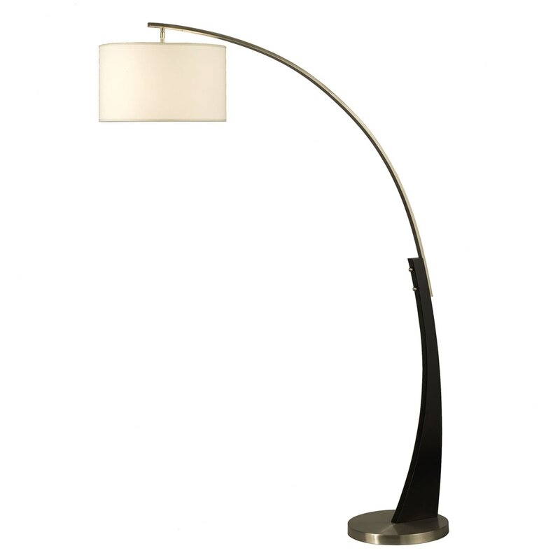 Sawicki 60 arched floor lamp