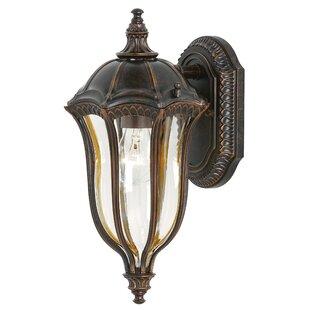 Best Gloucester 1-Light Outdoor Wall Lantern By Astoria Grand