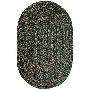 Places to buy  Aarush Hand-Braided Green/Orange Indoor/Outdoor Area Rug Online