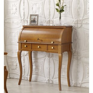 Dewayne Secretary Desk With Hutch by Canora Grey Find