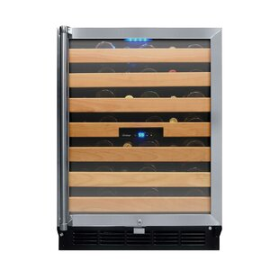 50 Bottle Single Zone Convertible Wine Cooler by Vinotemp