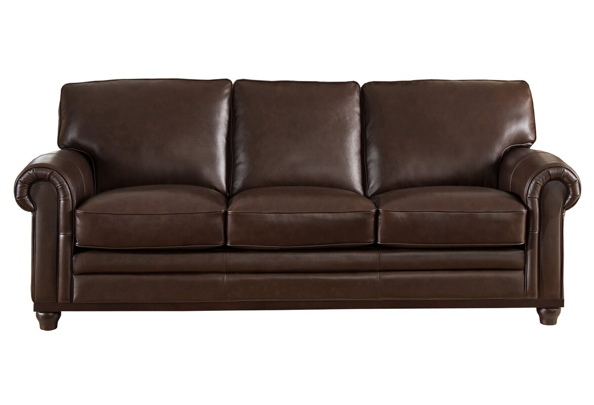 Exceptional Coventry Top Grain Leather Sofa