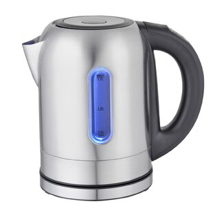 1.8-qt. Stainless Steel 5 Preset Temps Electric Tea Kettle
