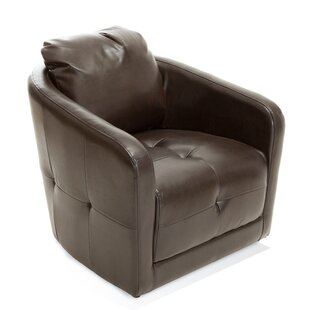 Concordia Swivel Barrel Chair by Home Loft Concepts