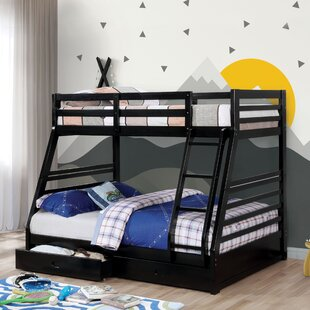 Best Reviews Sturm Twin over Full Bunk Bed with Storage by Harriet Bee Reviews (2019) & Buyer's Guide