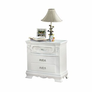 Brazell 3 Drawer Nightstand by House of Hampton Savings