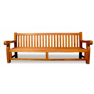 Highbridge Teak Garden Bench by August Grove