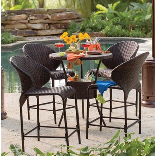 Mercury Row Nicodemus 5 Piece Bistro Set