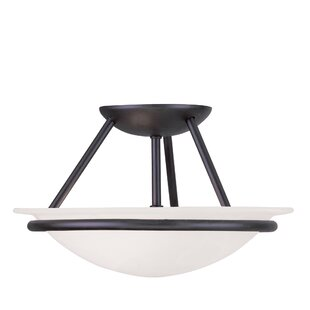 Larchmont Semi Flush Mount by Alcott Hill