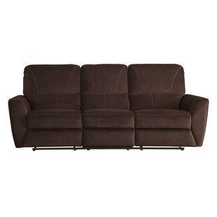 Red Barrel Studio Phineas Upholstered Plush Cushioned Dual Recliner Sofa