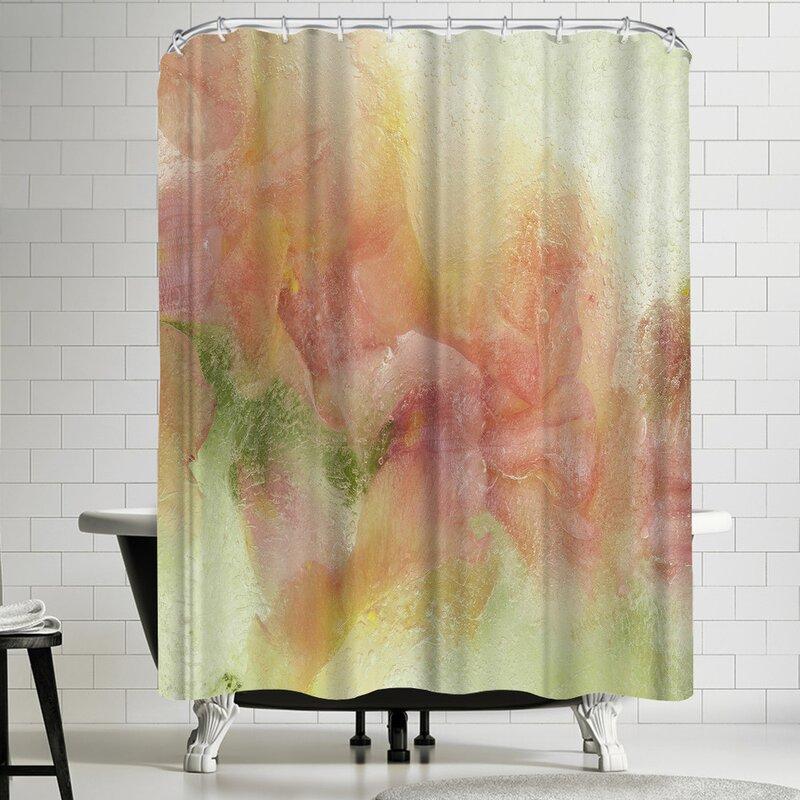 East Urban Home Zina Zinchik Waterfall In Paradise 2 Single Shower Curtain Wayfair