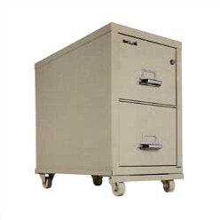 FireKing Vertical Filing Cabinet Caster B..