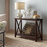 Espresso Wood Charlton Home Console Tables With Storage You Ll Love In 2021 Wayfair