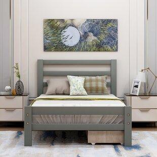 Heilyn Wood Storage Platform Bed