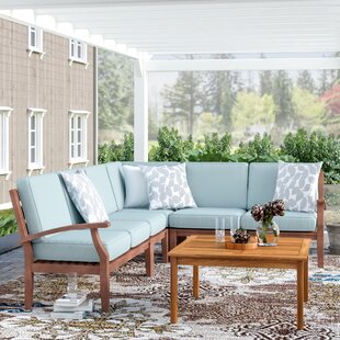 Three Posts Brook Hollow Sectional with Cushion