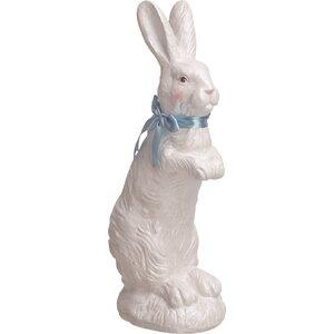 Glitter Bunny Figurine