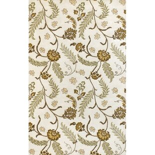 Affordable Lockbourne White Area Rug By Charlton Home