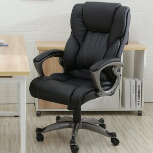 find the best leather office chairs | wayfair