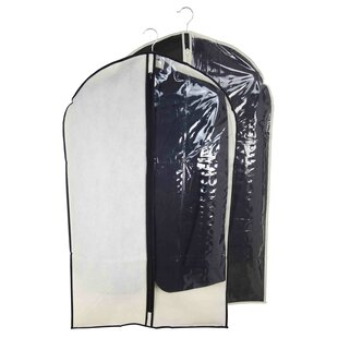 Savings Suit Garment Bag with Clear Panel (Set of 3) By Sunbeam