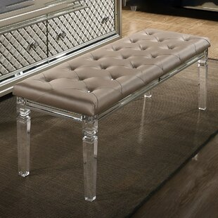 Ares Faux Leather Bench