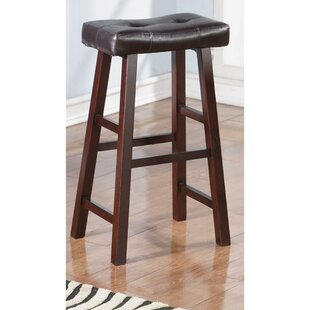 Rowe Wooden Bar Stool (Set of 2) by Charlton Home