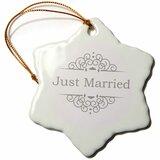 Just Married Ornament Wayfair