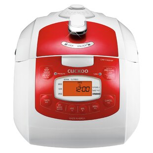 Cuckoo Electronics 6-Cup Pressure Rice Cooker