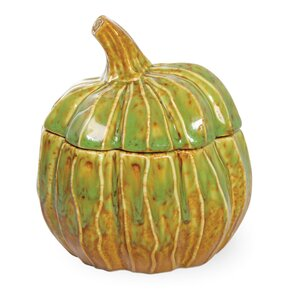 Autumn Days Pumpkin Jar (Set of 2)