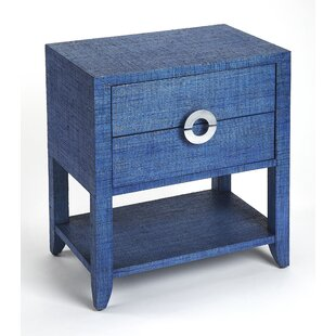 Everly Quinn Painswick End Table with Storage
