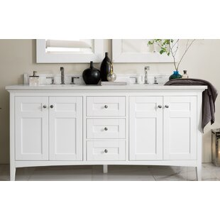 Check Prices Lineberry 71 Double Bathroom Vanity Set ByRosecliff Heights