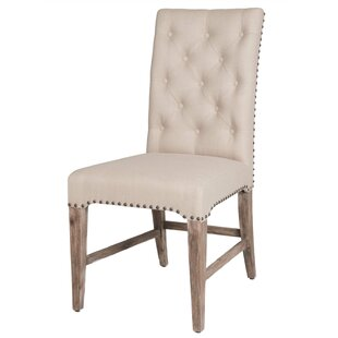Parfondeval Upholstered Dining Chair (Set of 2) by Lark Manor