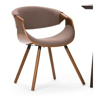 Prewitt Bentwood Upholstered Dining Chair Ebern Designs