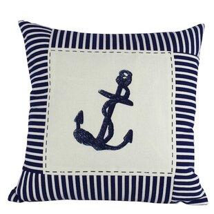 Anwen Nautical Stripes Decorative Throw Pillow