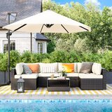 Kaydience Metal 6 - Person Seating Group with Cushions