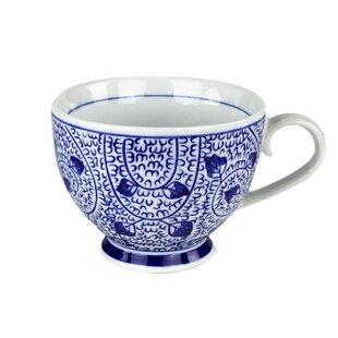 Habersham Hand Painted Teacup (Set of 2)