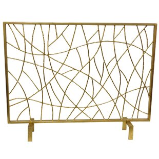 Cabinet Iron Fireplace Screen By DessauHome