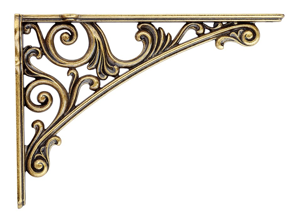 brackets decorative depot home metal shelf