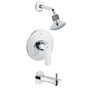 Grohe Eurosmart Cosmo Diverter Tub and Shower Faucet with Lever Handle