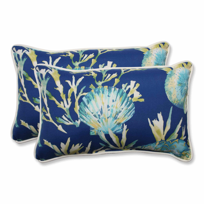 Highland Dunes Earleville Indoor Outdoor Lumbar Pillow Cover Reviews Wayfair