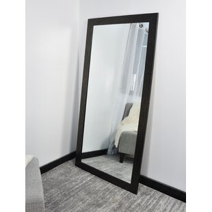 American Value Etched Black Tall Vanity Wall..
