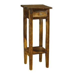 Walker End Table with Storage by Antique Revival