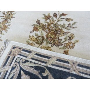 Read Reviews One-of-a-Kind Besser Hand-Knotted Wool Ivory Area Rug By Isabelline