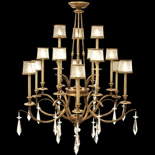 Fine Art Lamps Monte Carlo 15-Light Shaded Chandelier