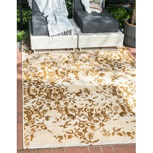 Eris Beige Indoor/Outdoor Area Rug