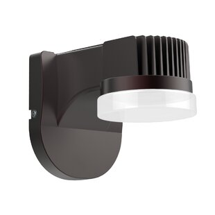 Jennifer 1-Light Outdoor Sconce by Latitude Run
