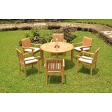Onondaga Luxurious 7 Piece Teak Dining Set